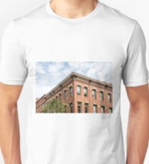 Old Brick Building and Sky T-Shirt