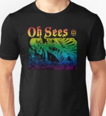 Oh sees (totes Skelett) Slim Fit T-Shirt