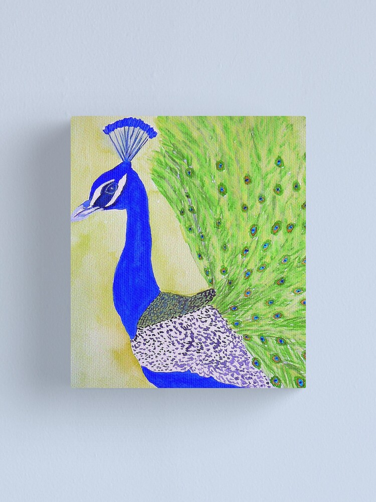 Alternate view of Peacock Canvas Print