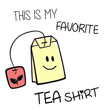 Tea Shirt by olivergraham