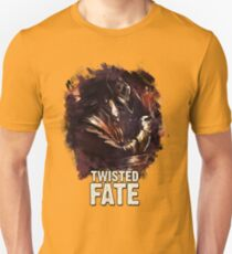TWISTED FATE - League of Legends [white background edition] Unisex T-Shirt