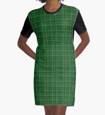 irish style tartan Graphic T-Shirt Dress