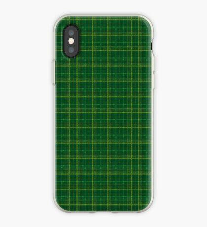 irish style tartan iPhone Case
