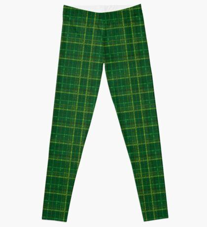 irish style tartan Leggings