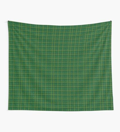 irish style tartan Wall Tapestry