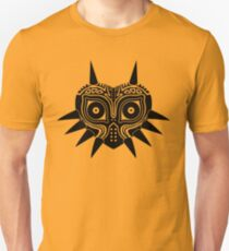 Majora's Mask (Tattoo, black) Unisex T-Shirt