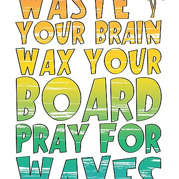 Surfing Retro Rainbow Gradient Slogan Graphic by TotalTeeGeek