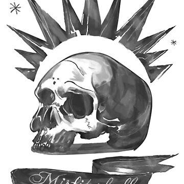Life is Strange  Chloe Misfit skull by Conradz