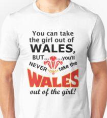 Always a Welsh Girl! Unisex T-Shirt