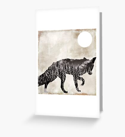 Going Wild Fox Greeting Card