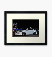 Night RSX Framed Print
