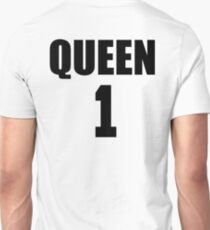 Queen (Black) The Hers of the His and Hers Unisex T-Shirt