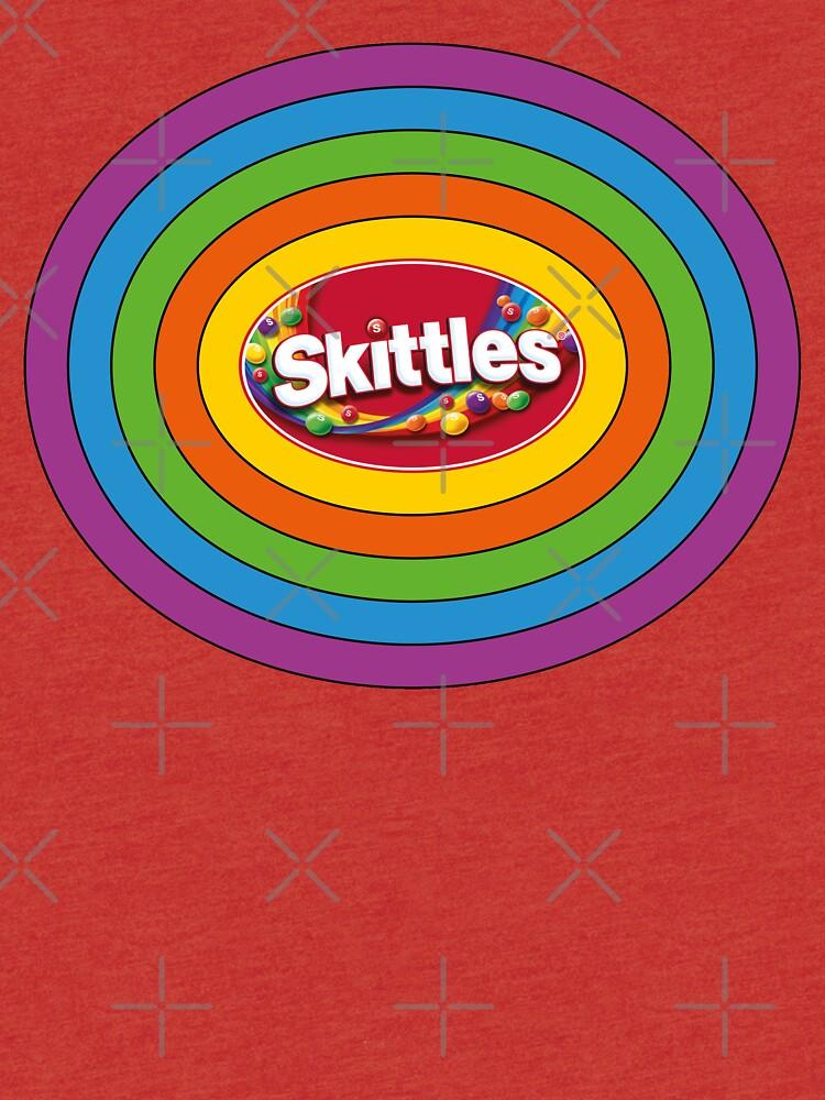 Skittles Rainbow Logo By GregGgggg