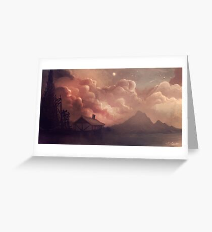 Fantasy Clouds Greeting Card