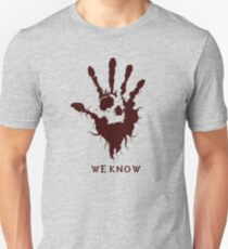 Dark Brotherhood Skyrim - We Know Unisex T-Shirt