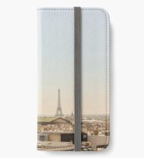 Eiffel Tower on a Summer's Day iPhone Wallet/Case/Skin