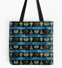 Ägyptische Ornament Symbole Muster Tote Bag