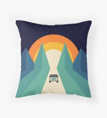 Wonderful Trip Throw Pillow