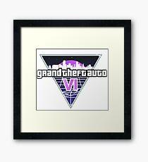 GTA 6 Framed Print