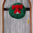 Christmas Door by Russell Halsema