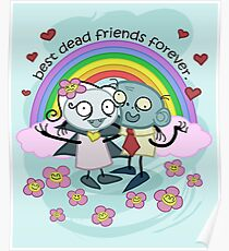 Best Dead Friends Forever Poster