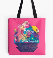 Red In Tooth And Claw Tote Bag