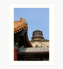 Summer Palace, Beijing, China Art Print