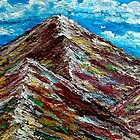 SECRET RAINBOW MOUNTAIN PERU by WhiteDove Studio kj gordon