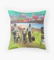 Consumer Picnic Throw Pillow