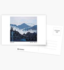 Mountain weave Postcards