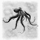 Octopus - Ink Art Vega by David Edwards