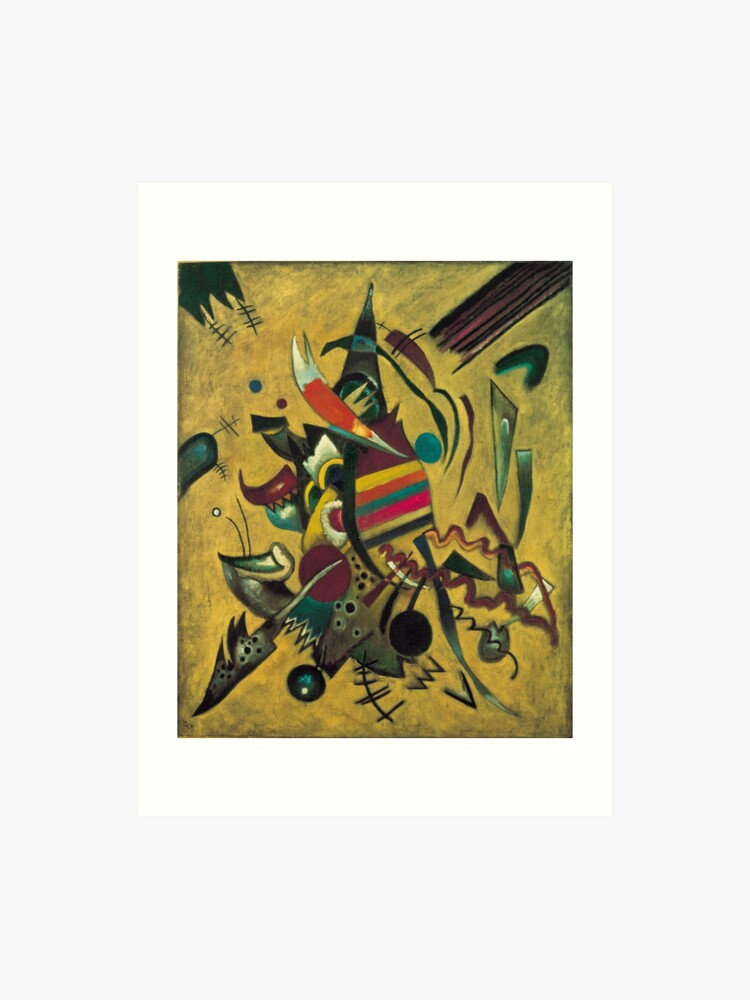 Points Wassily Kandinsky Abstract Painting Art Print
