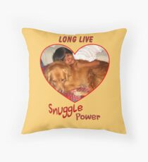 Long Live Snuggle Power Throw Pillow