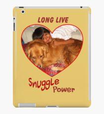 Long Live Snuggle Power iPad Case/Skin