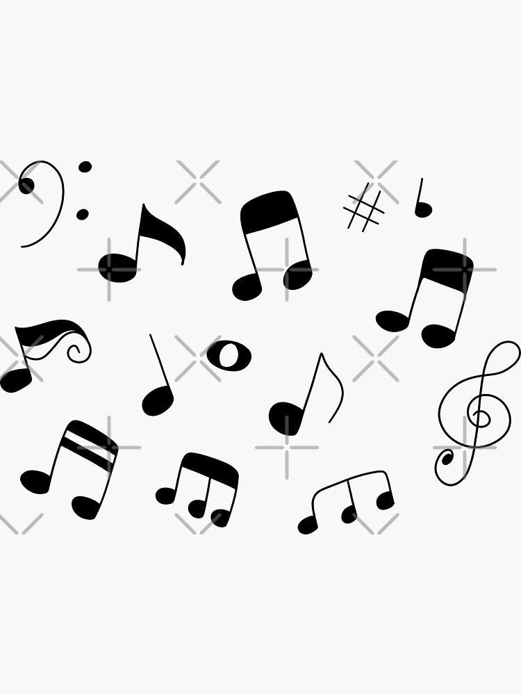 Musiknoten von SaradaBoru