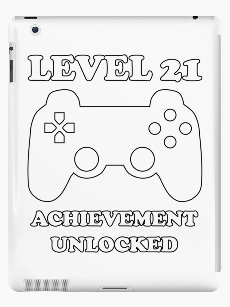 level 21 achievement unlocked gamer next level 21 years old birthday Retro Games level 21 achievement unlocked gamer next level 21 years old birthday by geekydesigner