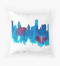 Buffalo Skyline - Aquarell Dekokissen