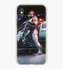 Robocop movie poster iPhone Case