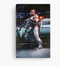 Robocop movie poster Canvas Print
