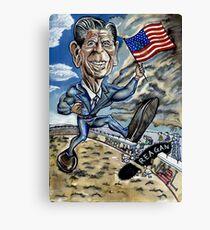 A Reagan in Berlin Canvas Print