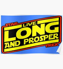 Live Long & Prosper Strikes Back Poster