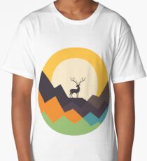 Deer Long T-Shirt