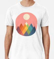Rainbow Peak Men's Premium T-Shirt