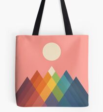 Rainbow Peak Tote Bag