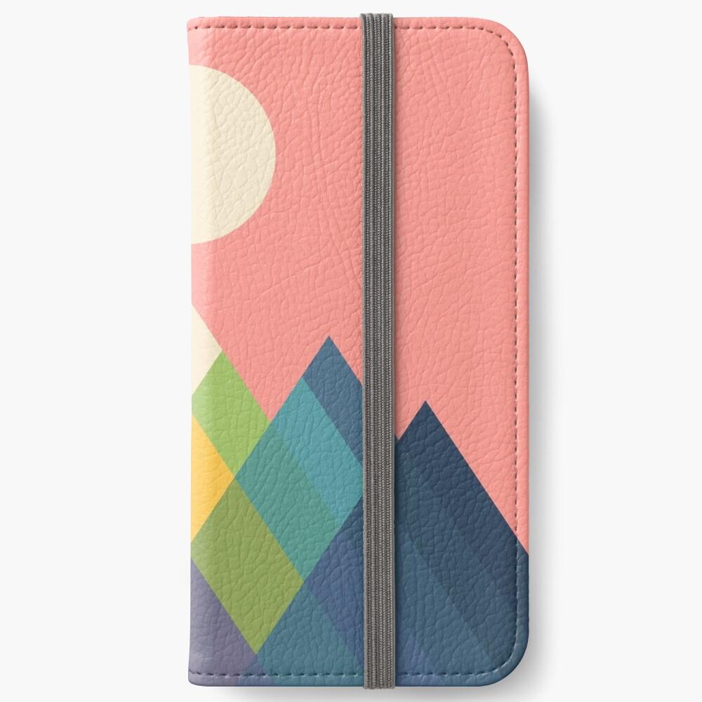 Rainbow Peak iPhone Wallet