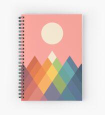 Rainbow Peak Spiral Notebook