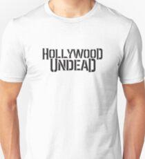 Hollywood Undead text logo Unisex T-Shirt