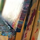Canvas on Easel by Maria Meester