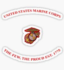 United States Marines Sticker