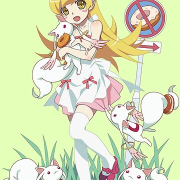shinobu and kyubey by Animenox